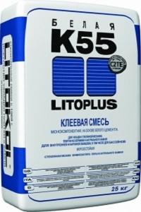 Клей для плитки Литокол К55 25 кг